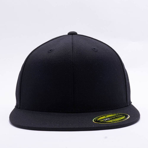 Black 210 Blank Fitted Hats