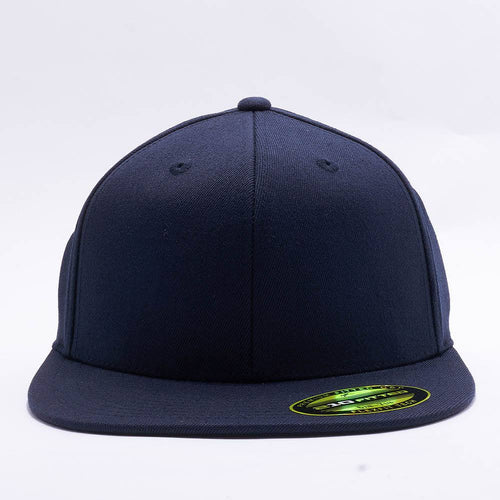 Dark Navy 210 Blank Fitted Hats 6e2c498d117