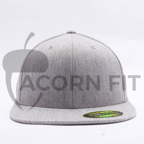 Heather Grey 210 Blank Fitted Hats
