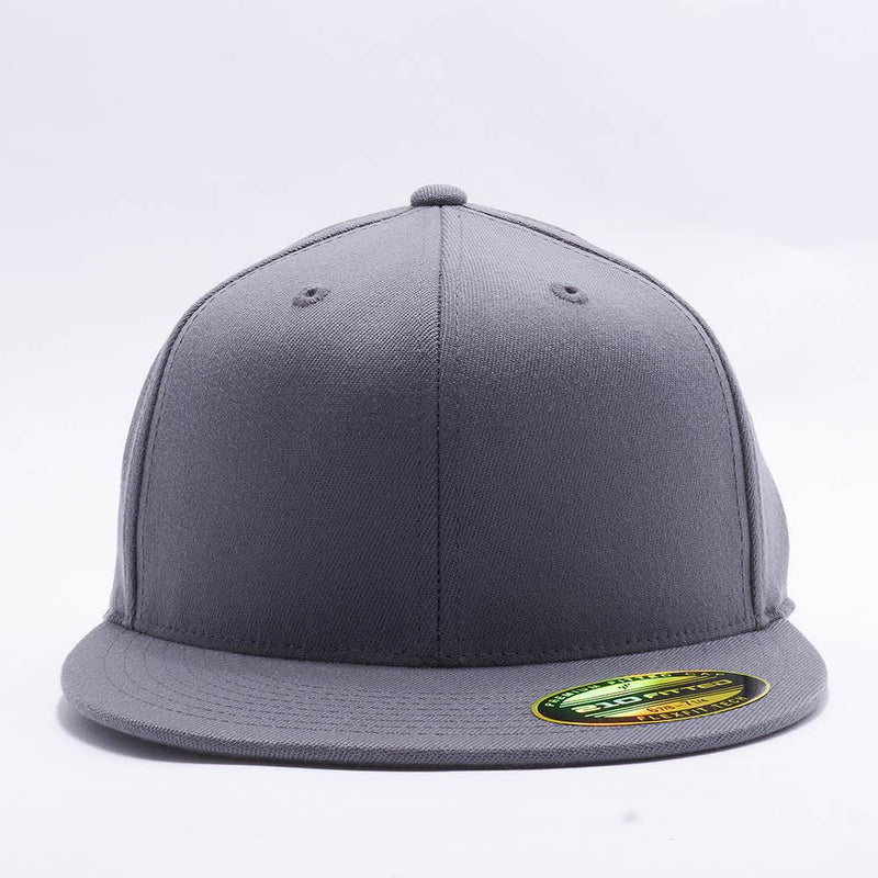 Dark Grey 210 Blank Fitted Hats