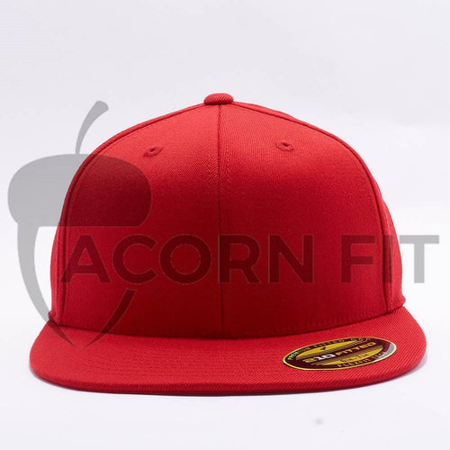 Red 210 Blank Fitted Hats