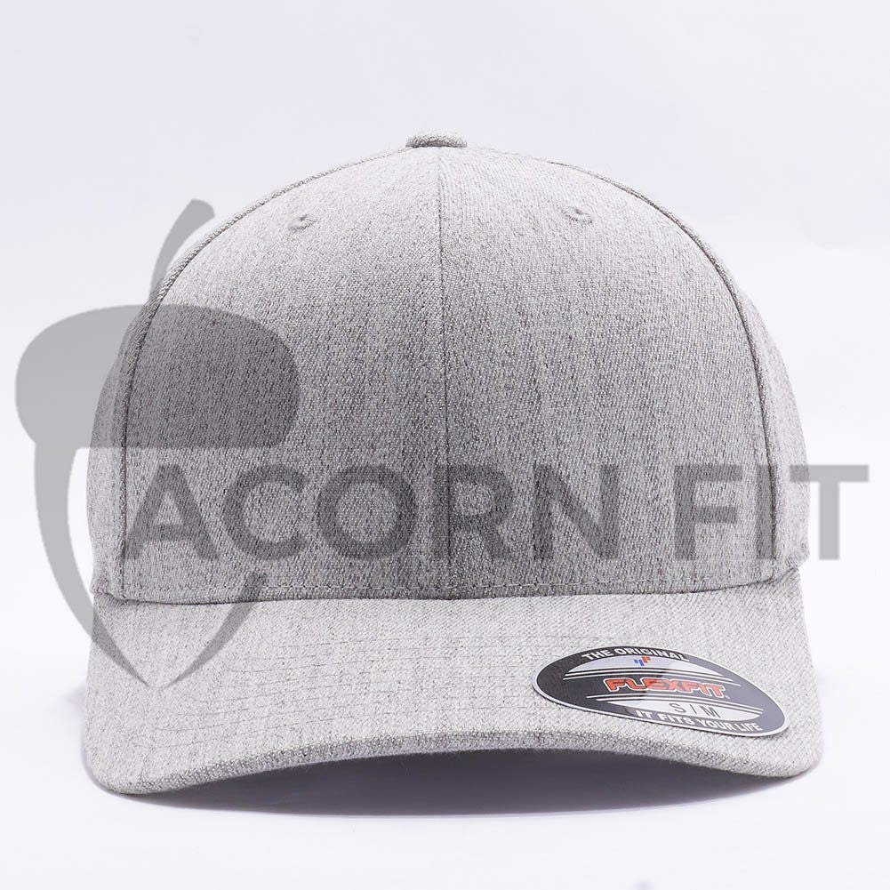4af1c42e24196 Wholesale Flexfit 6477 Wool Blend Hat  Heather  – Acorn Fit