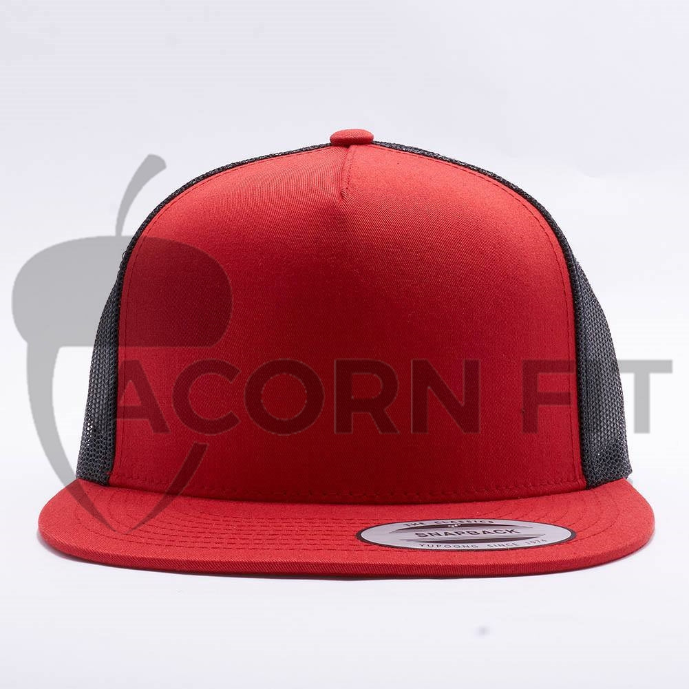 ec190e70 Wholesale Yupoong 6006T Classic Trucker [Red/Black] – Acorn Fit