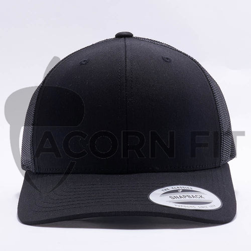 Black Blank Trucker Hat Cap
