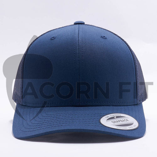 Navy Blank Trucker Hat Cap