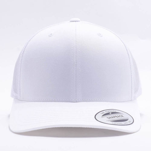 White Blank Trucker Hat Cap