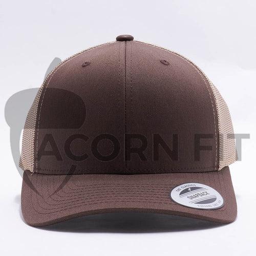 Brown Khaki Blank Trucker Hat Cap