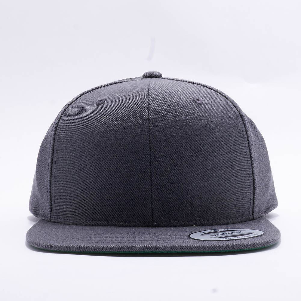 e29161bff6e Wholesale Yupoong 6089M Classic Snapback  Dark Grey  – Acorn Fit
