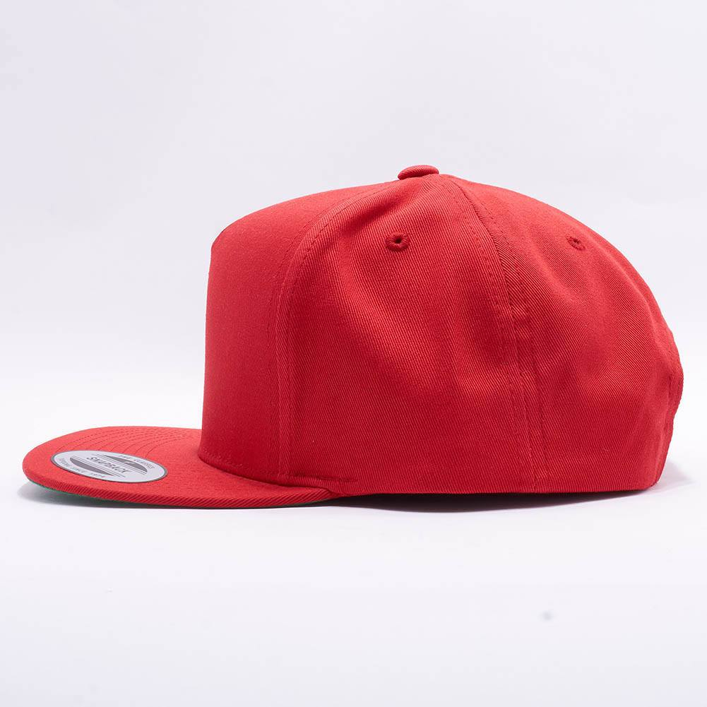 0e281640611 ... italy wholesale yupoong 6007 5 panel cotton twill snapback red acorn  fit d5130 91911