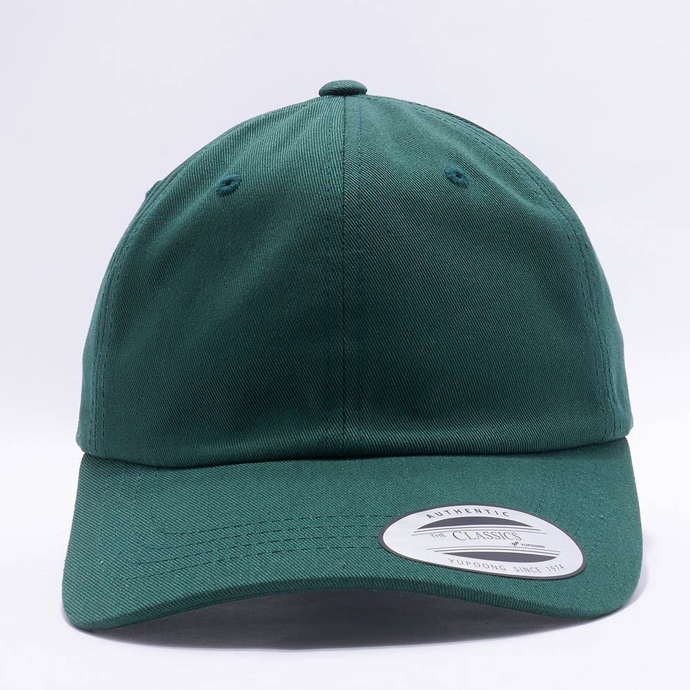 Wholesale Yupoong 6245CM Cotton Twill Dad Hat  Spruce  – Acorn Fit 79edce3adc13