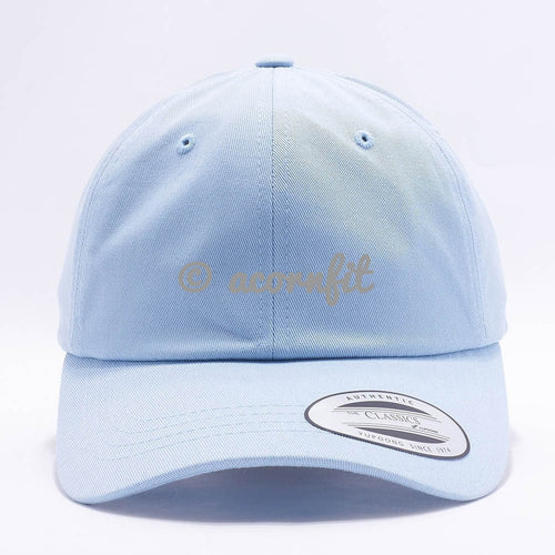 dad hats wholesale - yupoong 6245cm light blue