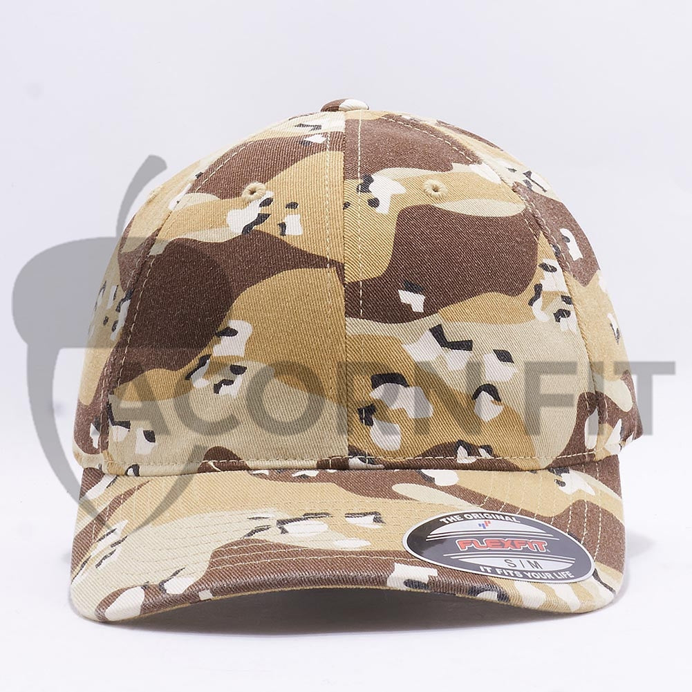 Wholesale Flexfit 6977CA Garment Washed Camo  Desert Camo  – Acorn Fit 41b9f90f3aa0