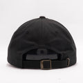 Blank Unstructured Dad Hats Wholesale - Yupoong Classic 6245PT Black