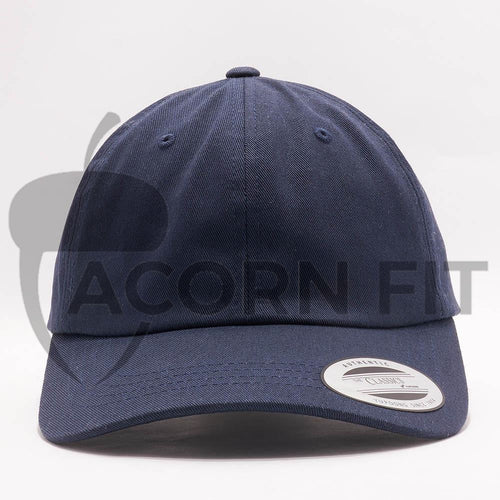 dad hats wholesale - yupoong 6245cm navy