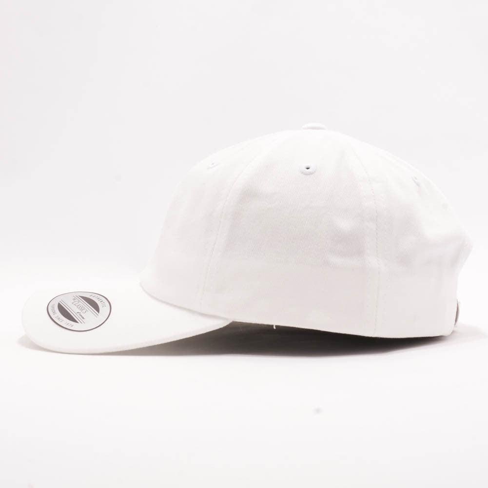 86f3070c9782a ... Blank Unstructured Dad Hats Wholesale - Yupoong Classic 6245PT White