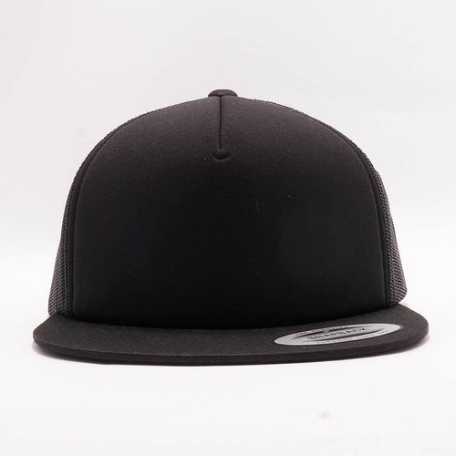 Yupoong Black Foam Trucker