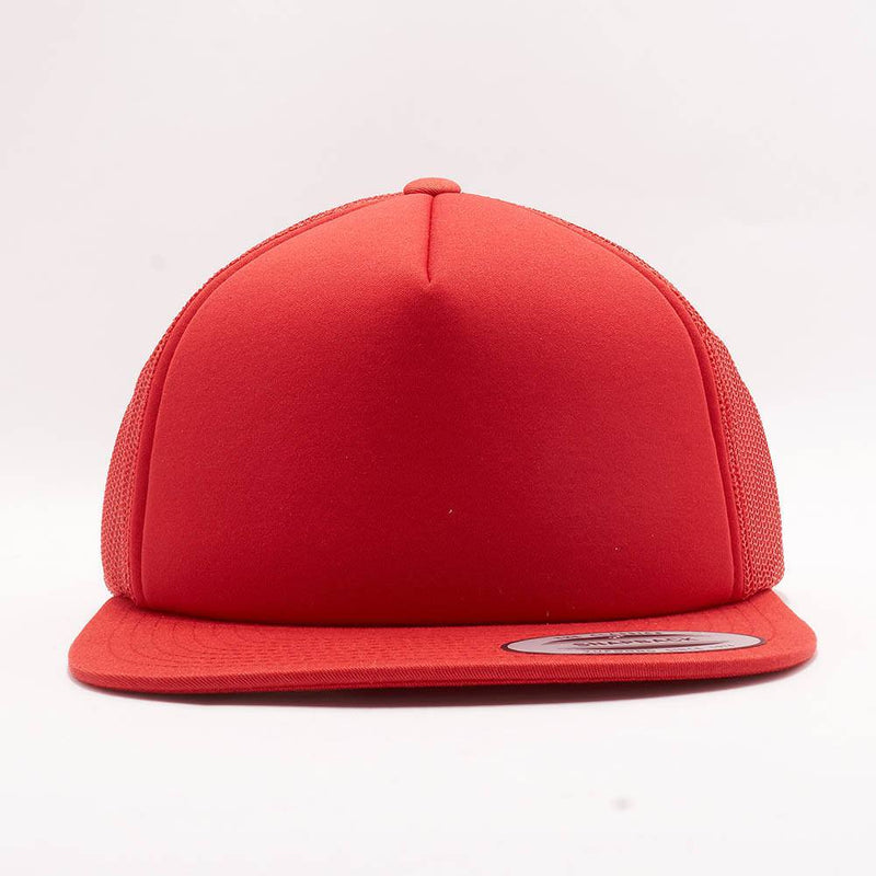 Yupoong Red Foam Trucker