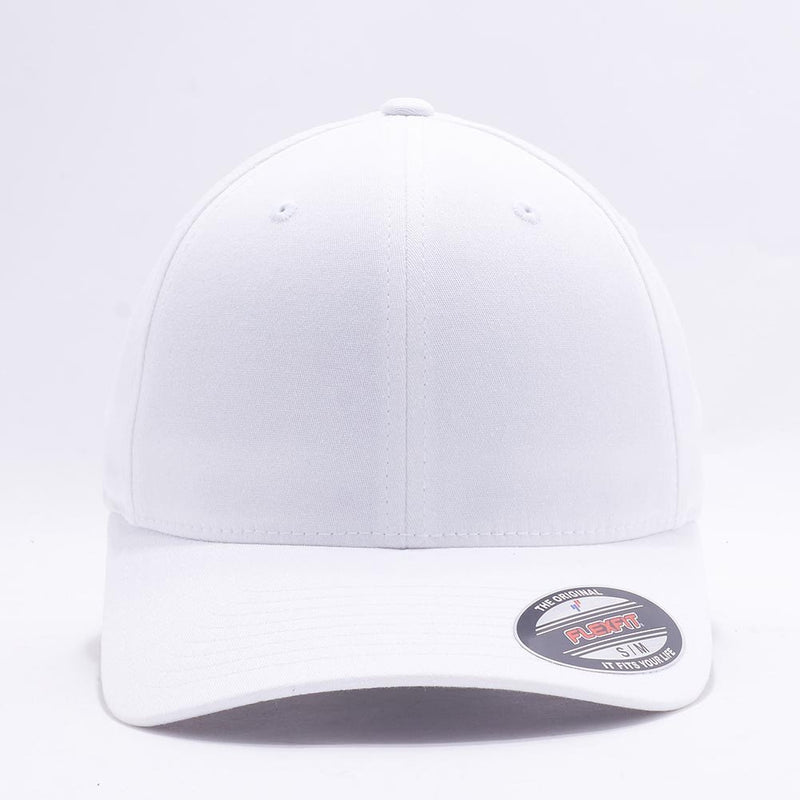 White Flexfit Hats Caps