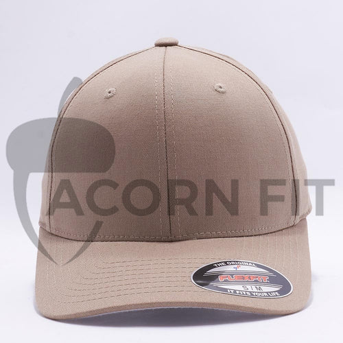 Khaki Flexfit Hats Caps