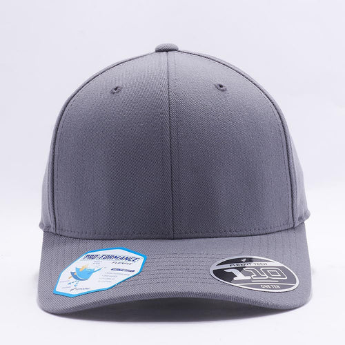 Blank Grey Baseball Caps