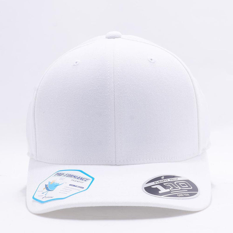 Blank White Baseball Caps