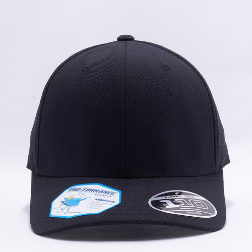 Blank Black Baseball Caps