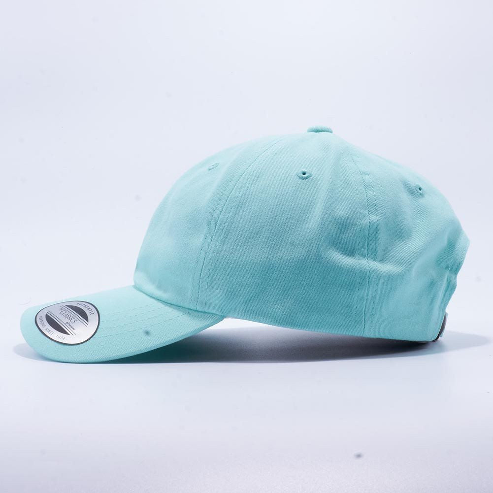 397406f8 Yupoong 6245PT Peached Cotton Twill Dad Hat Wholesale [Diamond Blue] –  Acorn Fit