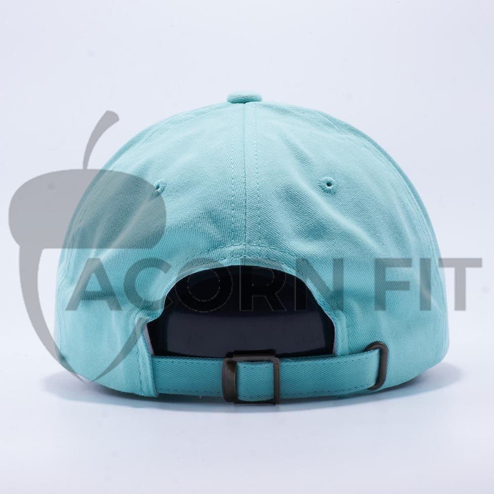 21b52d55 ... Blank Unstructured Dad Hats Wholesale - Yupoong Classic 6245PT Diamond  Blue