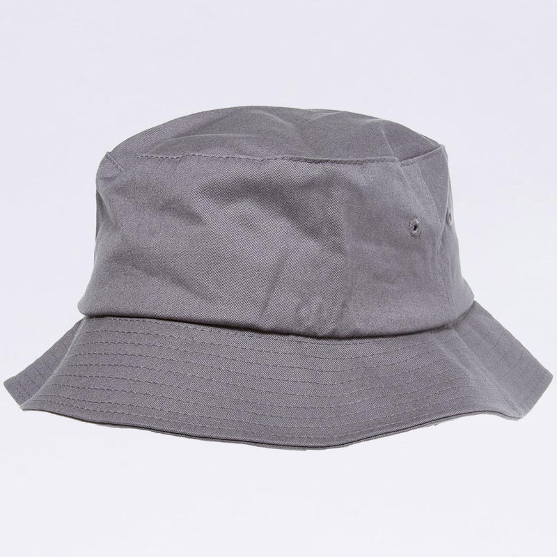 Wholesale Bucket Hats - Flexfit 5003 Grey Bucket Hat