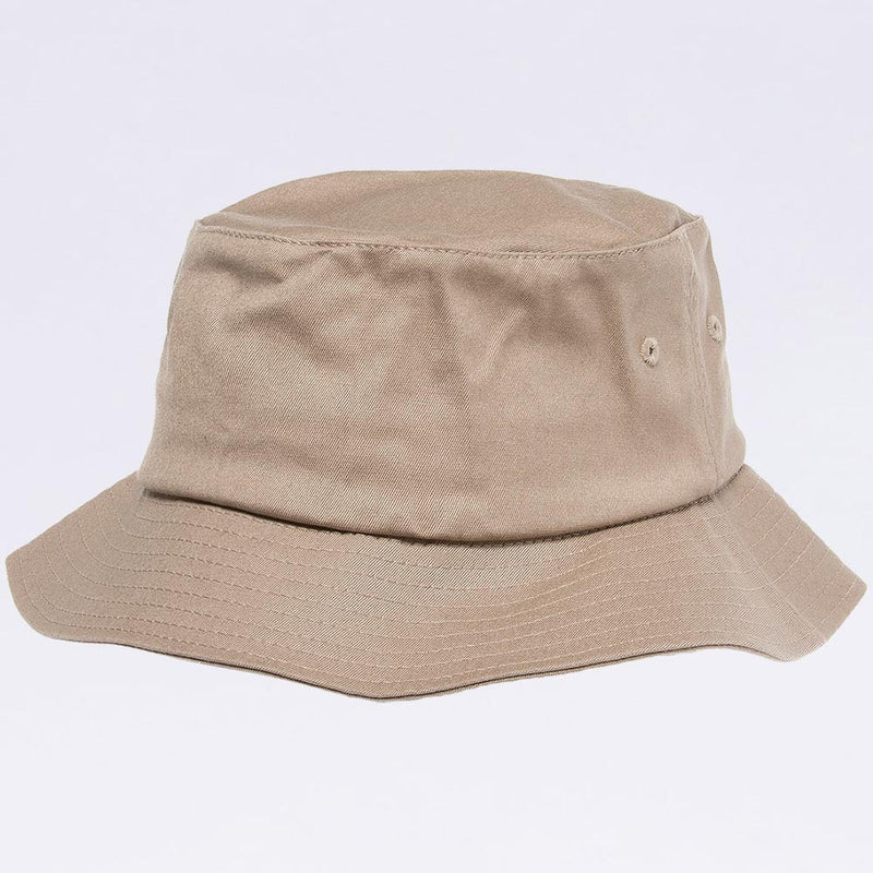 Wholesale Bucket Hats - Flexfit 5003 Khaki Bucket Hat
