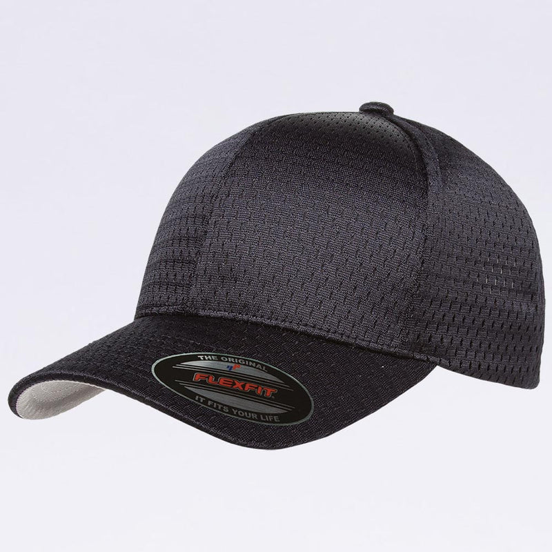 Wholesale Flexfit - 6777 Athletic Mesh Hat Dark Navy