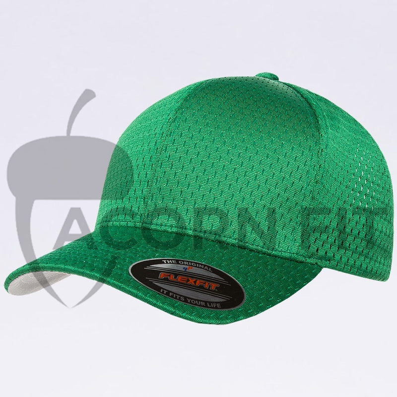 Wholesale Flexfit - 6777 Athletic Mesh Hat Kelly