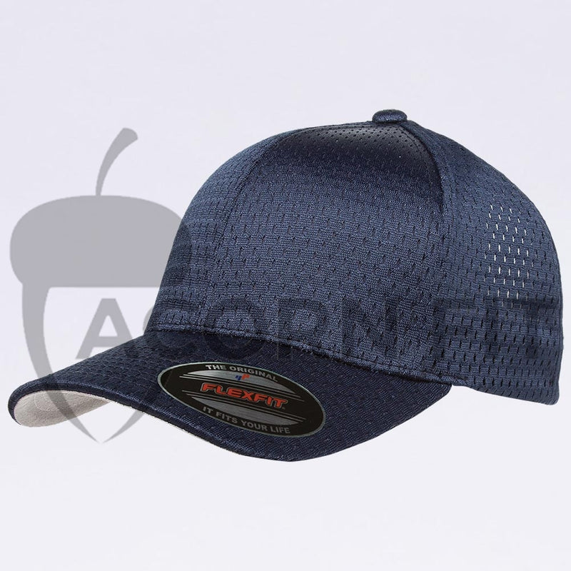 Wholesale Flexfit - 6777 Athletic Mesh Hat Navy