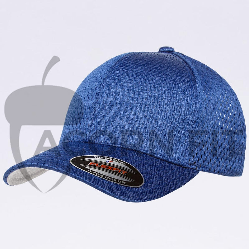 Wholesale Flexfit - 6777 Athletic Mesh Hat Royal