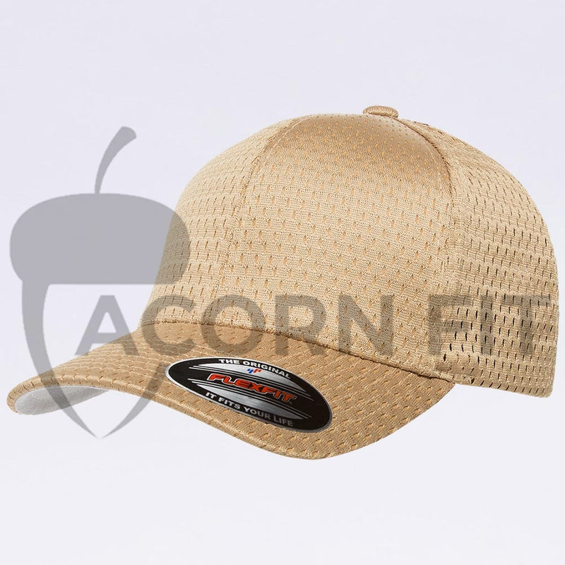 Wholesale Flexfit - 6777 Athletic Mesh Hat Vegas Gold