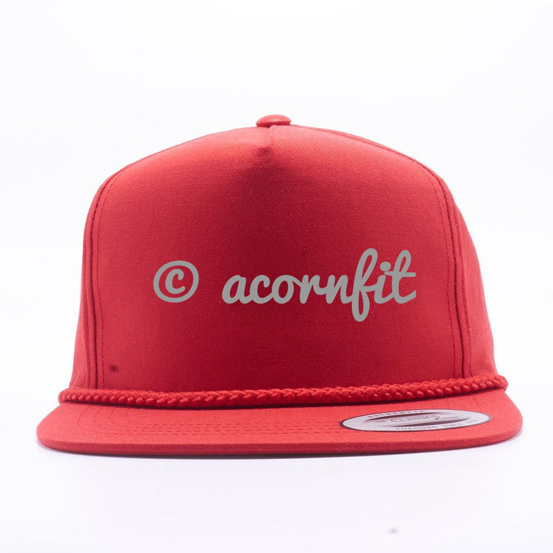 Wholesale Snapbacks - Yupoong Red 6002 Classic Poplin Golf Snapback