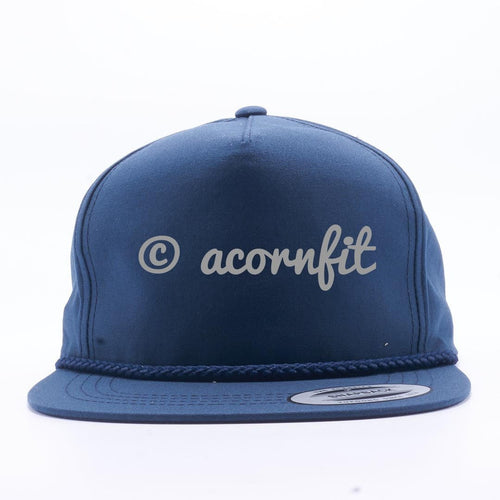 Wholesale Snapbacks - Yupoong Navy 6002 Classic Poplin Golf Snapback