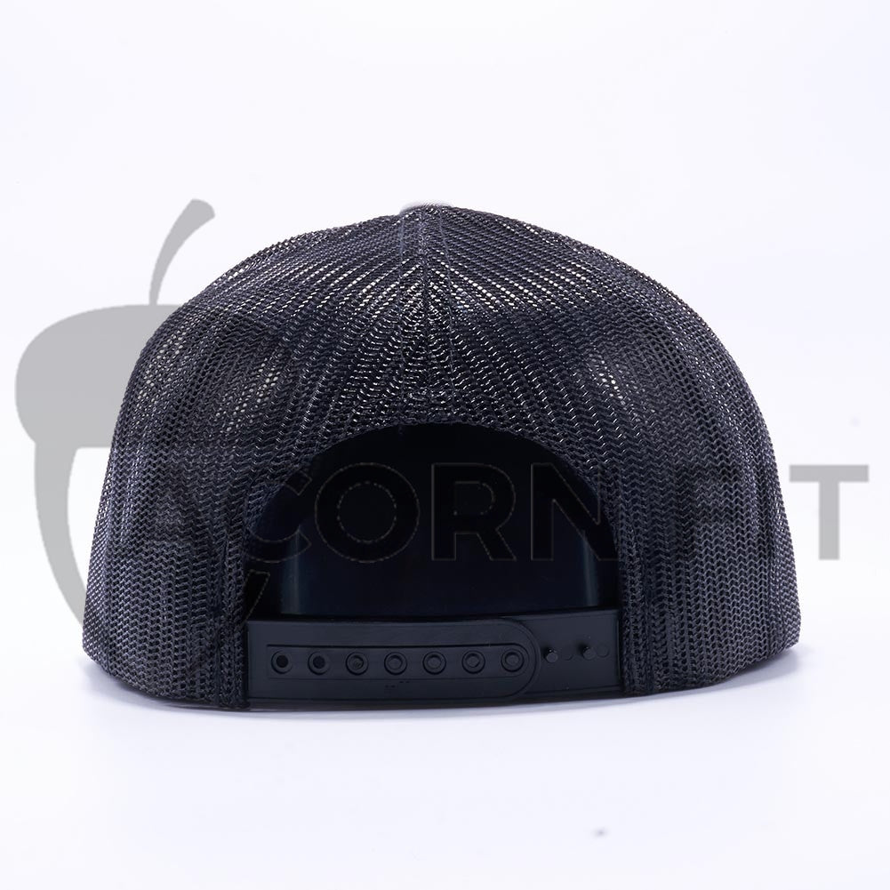 10ebafe5 ... Blank Trucker Hats Wholesale - Yupoong 6006 Classic Trucker Hats  Wholesale Silver/Black