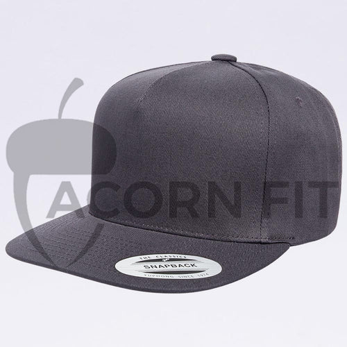 Snapback hats wholesale - 6007 Dark Grey