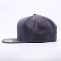 Yupoong 6089M Dark Heather Classic Snapback Hats Wholesale Custom - Acorn Fit