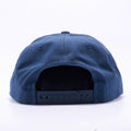 Navy Wholesale Yupoong 6502 Unstructured 5 Panel Classic Snapback Hat Custom - Acorn Fit