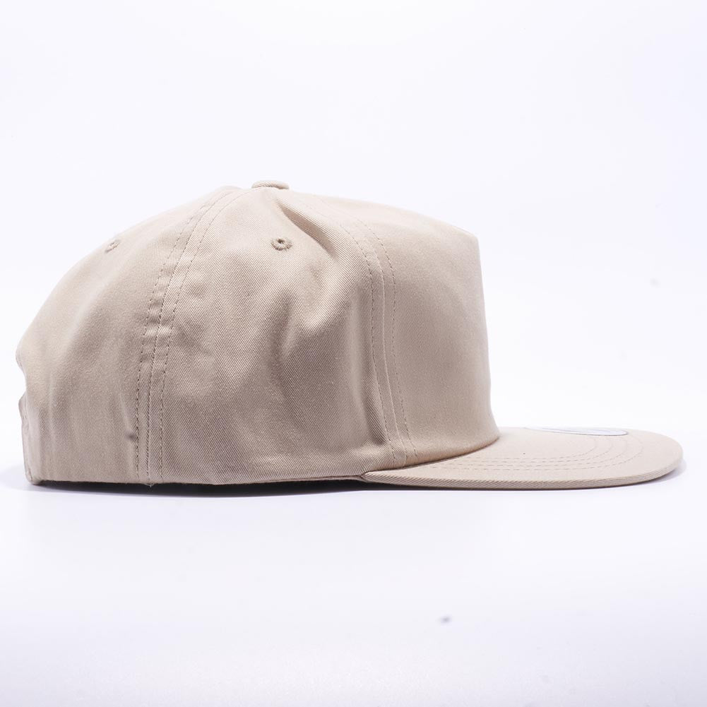 4f84a5723e6 ... Khaki Wholesale Yupoong 6502 Unstructured 5 Panel Classic Snapback Hat  Custom - Acorn Fit ...