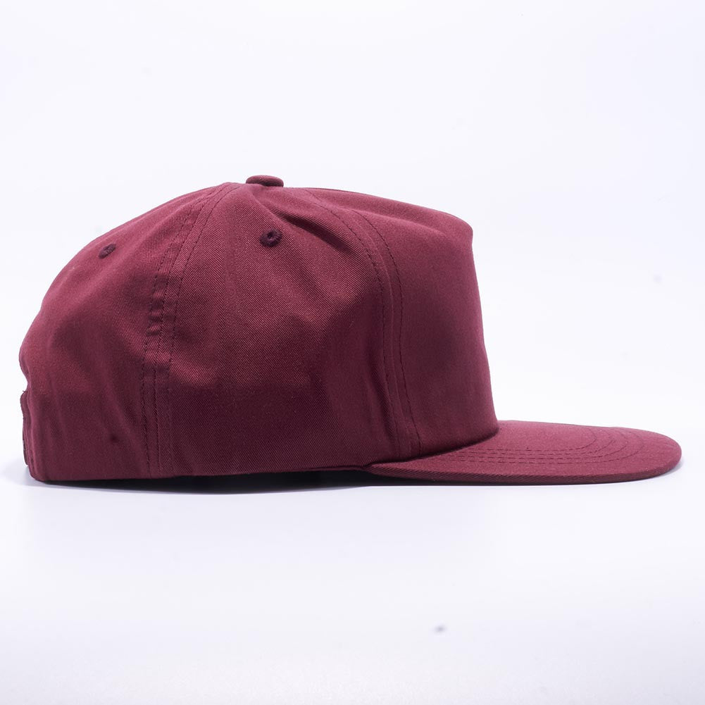 1918ff3dd57ad Wholesale Yupoong 6502 Unstructured 5 Panel Snapback  Maroon  – Acorn Fit