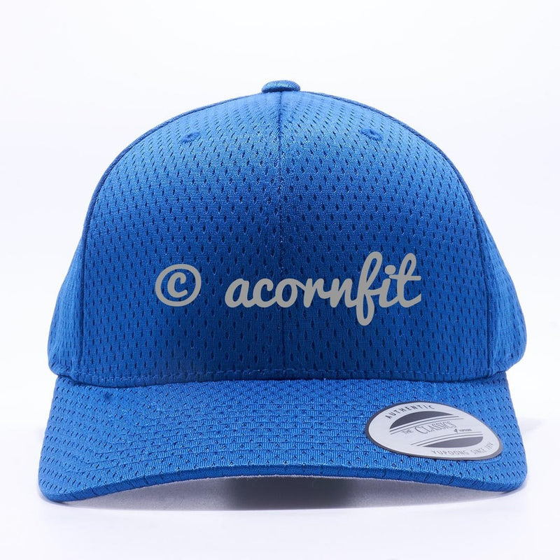Yupoong The Classics 6008 Royal Athletic Pro Mesh Hat Wholesale and Custom- Acorn Fit