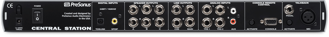 Presonus Central Station PLUS