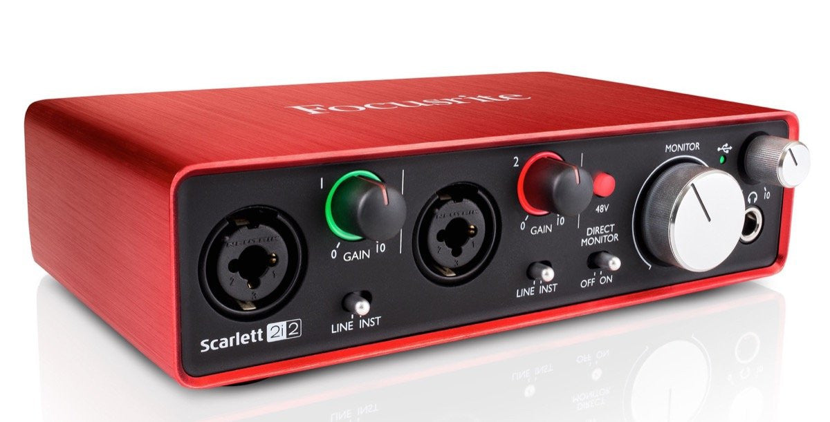 Focusrite Scarlett 2i2 Studio Gen2 (Bundle)