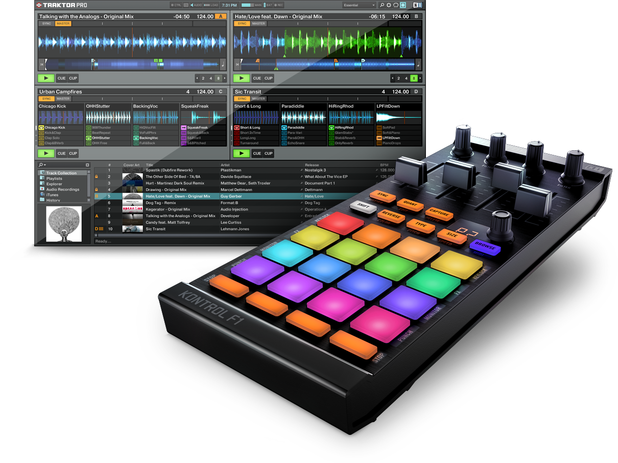 Native Instruments Traktor Kontrol F1 (Promo Price)