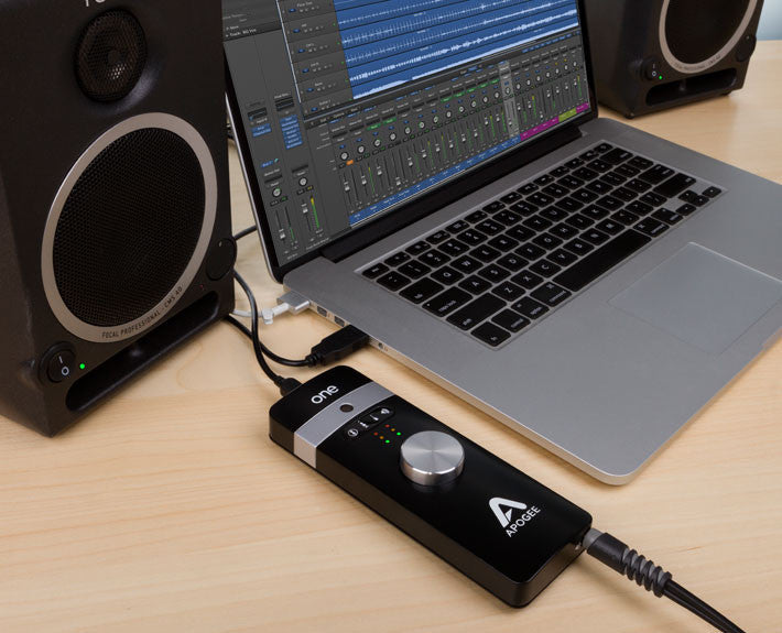 Apogee One for iPad, iPhone and Mac
