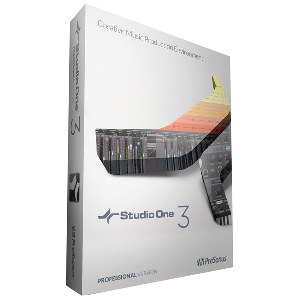 PreSonus Studio One 3 Professional (boxed)
