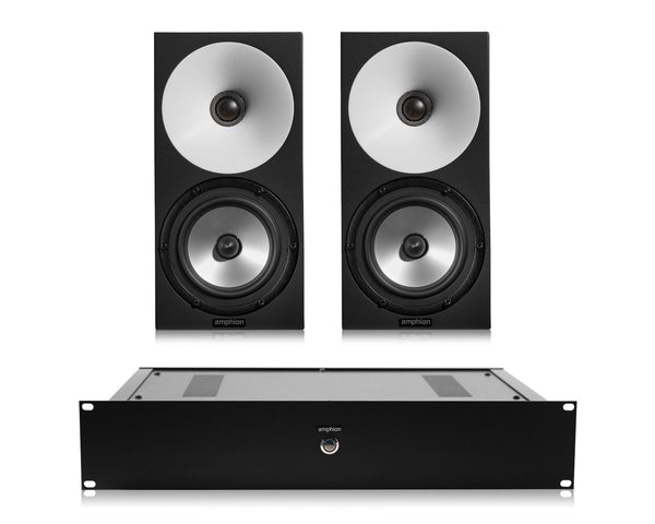 Amphion One15 (pair) / / Amp100 (w/speaker cables)